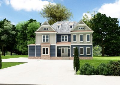 Eclectic Custom Home Design Plan 2