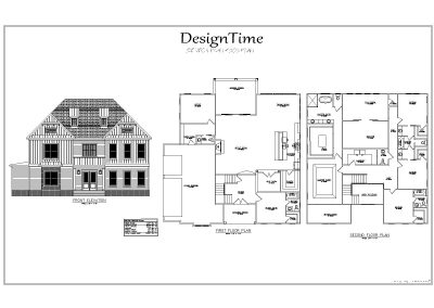 Eclectic Custom Home Design Plan 6