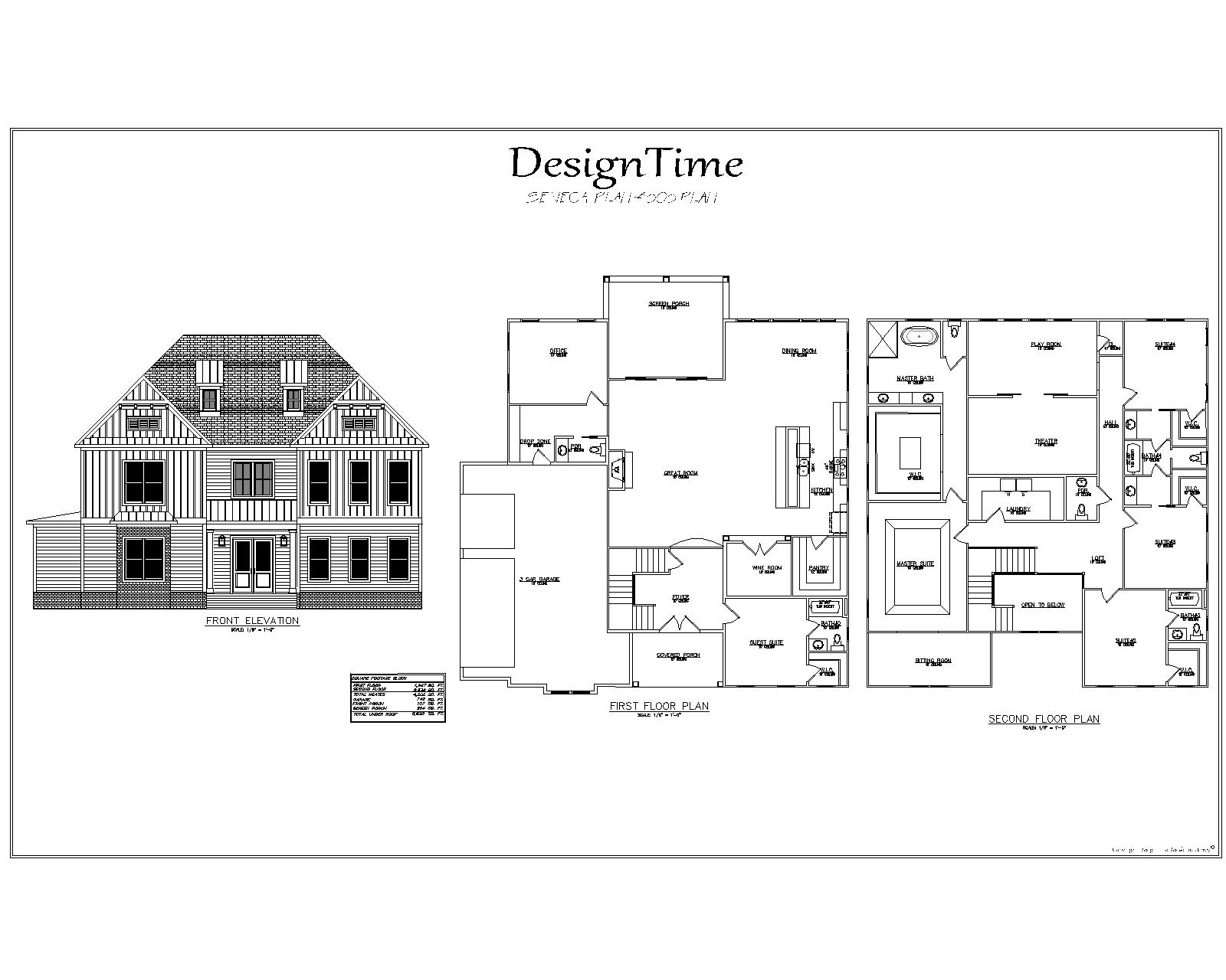 Eclectic Custom Home Design Plan | Design Time