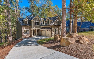 Neo-Eclectic American Standard Home Design in Concord, NC